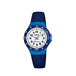 Lorus - Kid's Blue 'Youth' Analogue Silicone Strap Watch R2359MX9