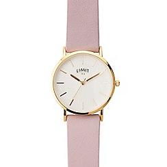 Limit - Ladies purple analogue strap watch 6364.01