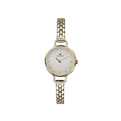 Accurist - Ladies Gold Analogue Bracelet Watch 8272.01