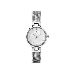 Accurist - Ladies Silver Analogue Mesh Bracelet Watch 8250.01