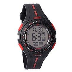 Limit - Kids digital black strap watch 5391.56