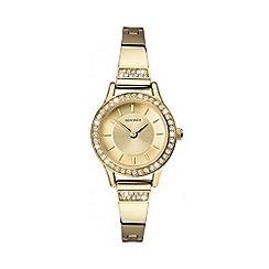 Sekonda - Ladies Gold Analogue Bracelet Watch 2565.28