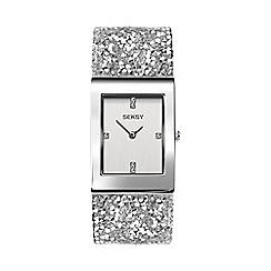 Sekonda - Ladies Silver 'Seksy' Swarovski® Crystals Analogue Bracelet Watch 2652.37