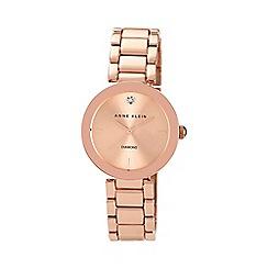 Anne Klein - Ladies rose gold stianless steel watch ak/n1362rgrg