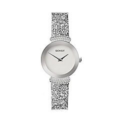 Sekonda - Ladies Silver 'Seksy' Swarovski® Crystals Analogue Bracelet Watch 2721.37