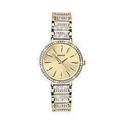 Sekonda - Ladies Gold 'Seksy' Swarovski® Crystals Analogue Bracelet Watch 2732.37