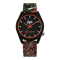 Hype - Unisex Multi-Coloured Analogue Silicone Strap Watch HYU009BN