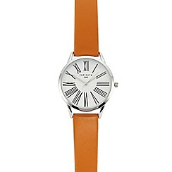Infinite - Womens' Orange Analogue Watch