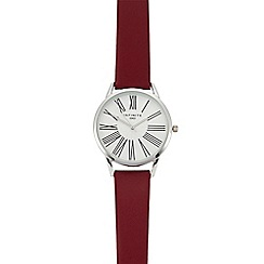 Infinite - Womens' Red Analogue Watch