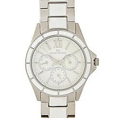 RJR.John Rocha - Ladies designer silver multi dial enamel watch