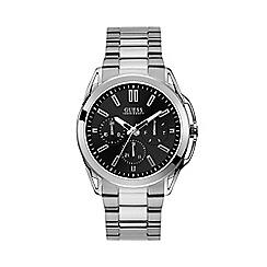 Guess - Men's Silver Bracelet Watch W1176G2