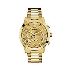 Guess - Men's Gold Chronograph Bracelet Watch W0668G4