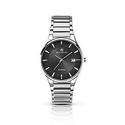 Accurist - Men's sliver quartz bracelet watch
