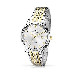 Accurist - Men's two-tone bracelet watch 7018.01