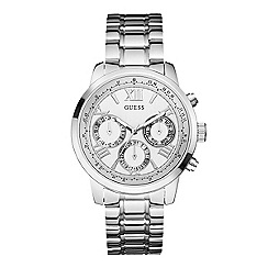 Guess - Ladies silver bracelet watch w0330l3