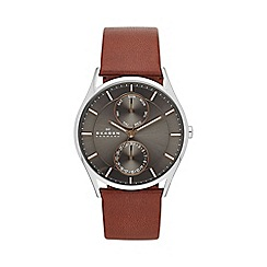 Skagen - Holst Mens Leather watch skw6086