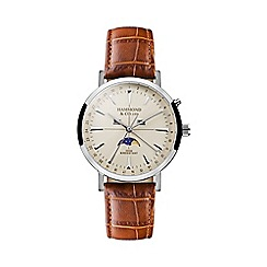 Hammond & Co. by Patrick Grant - Men's watch with tan leather strap