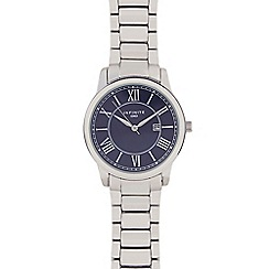 Infinite - Gents silver plated bracelet analogue watch