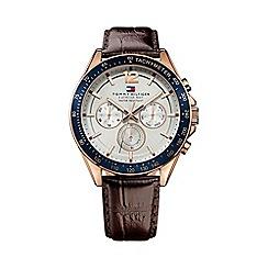 Tommy Hilfiger - Men's white chronograph strap watch 1791118