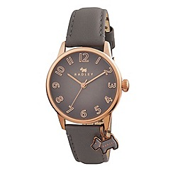 Radley - Ladies watch with rose gold plated case and marsupial genuine leather strap ry2248