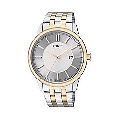 Citizen - Men's two tone stainless steel watch bi1054-55a