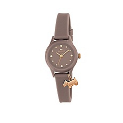 Radley - Ladies 'Marsupial' with rose gold silicone strap watch ry2322