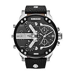 Diesel - Men's 'Mr Daddy' black dial & bracelet watch dz7313