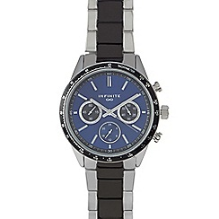 Infinite - Men's blue mock multi-dial watch