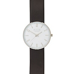 Floozie by Frost French - Ladies black analogue watch