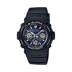 G-shock - Men's black 'G-Shock' watch awg-m100sb-2aer