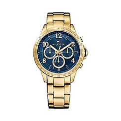 Tommy Hilfiger - Ladies gold chronograph bracelet watch 1781643