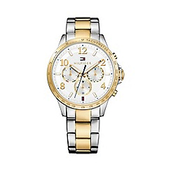 Tommy Hilfiger - Ladies two tone chronograph bracelet watch 1781644