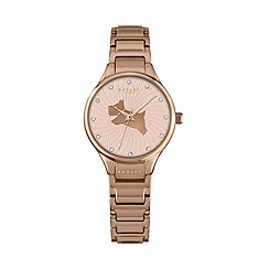Radley - Ladies rose gold 'On The Run' link watch ry4244