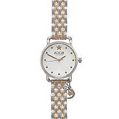 Floozie by Frost French - Ladies rose gold star analogue watch