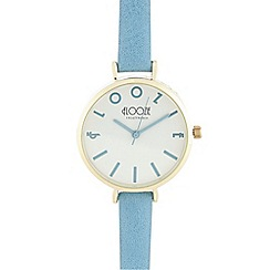 Floozie by Frost French - Ladies blue brand markers analogue watch