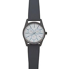 Red Herring - Men's grey analogue watch