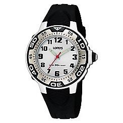 Lorus - Kid's black analog strap watch