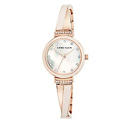 Anne Klein - Womens wrist watch with a Mother of Pearl dial ak/n2216blrg