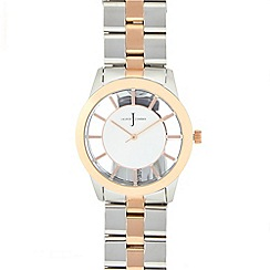 J by Jasper Conran - Ladies' silver plated analogue watch