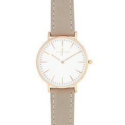 J by Jasper Conran - Ladies' grey analogue watch