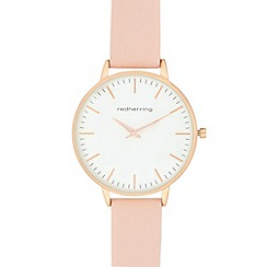 Red Herring - Ladies' light pink analogue watch