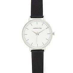 Red Herring - Ladies' black analogue watch