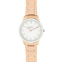 Principles by Ben de Lisi - Ladies' rose gold linked analogue watch