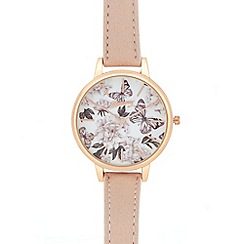 Mantaray - Ladies multi-coloured analogue watch in a gift box