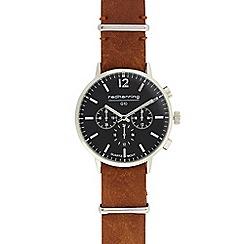 Red Herring - Men's tan analogue watch