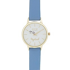 Floozie by Frost French - Ladies' light blue 'Mystical' analogue watch