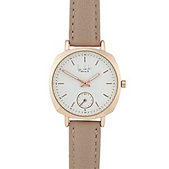 Principles - Taupe square watch
