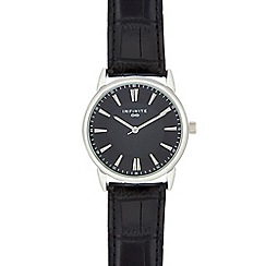 Infinite - Men's black analogue watch