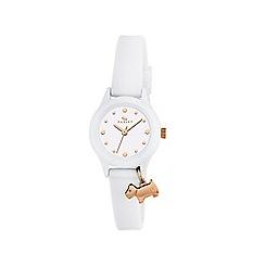 Radley - Watch It ladies white silicone strap watch ry2320