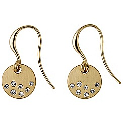 Pilgrim - Isabella gold plated earrings